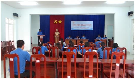 Đ/c Trần Việt Tân- thay mặt Đoàn chủ tịch đọc Báo cáo tổng kết