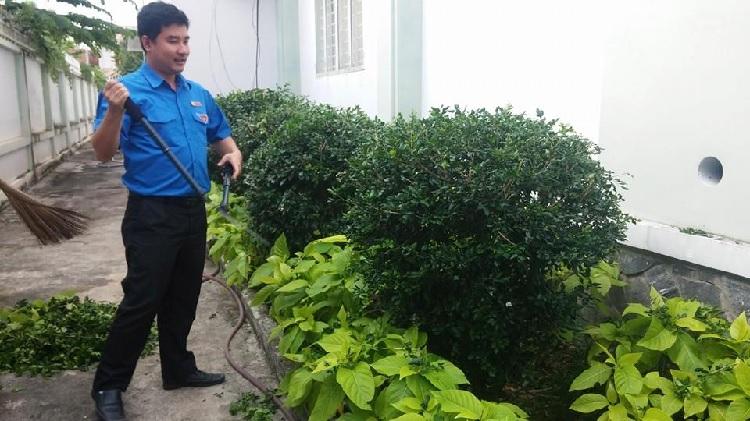 Công trình thanh niên – Môi trường làm việc xanh