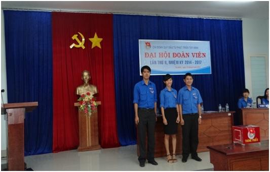 Đại hội Chi đoàn Quỹ Đầu tư phát triển Tây Ninh